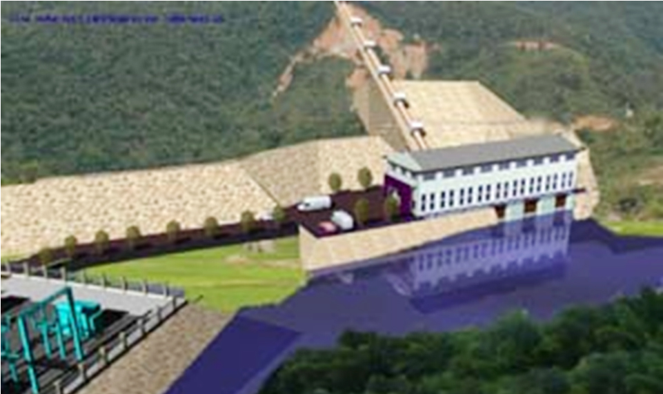chau thon hydropower project